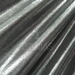 Hologram Silver Black Spandex