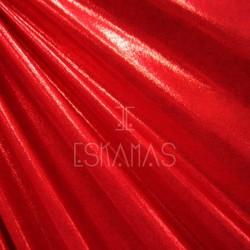 Lycra holograma roja espejo
