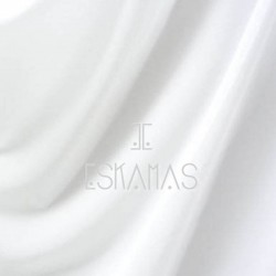 Lycra lisa blanca