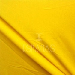Lycra lisa amarilla