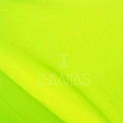 Lycra lisa amarilla neon