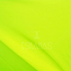 Smooth Spandex Neon Yellow