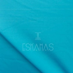 Lycra lisa azul turquesa