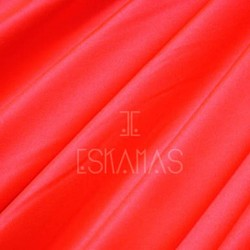 Smooth Spandex Neon Coral