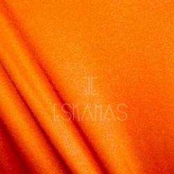 Lycra lisa naranja neón