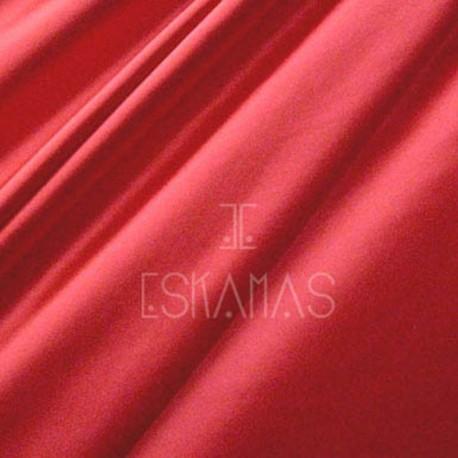 Lycra lisa rojo vulcano