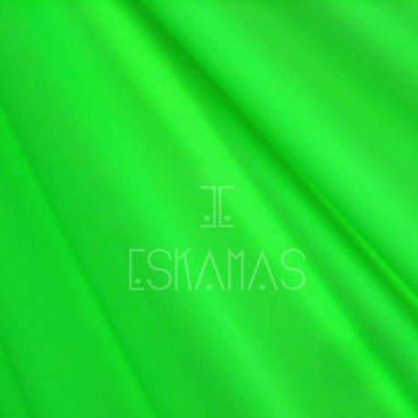 Lycra lisa verde neón